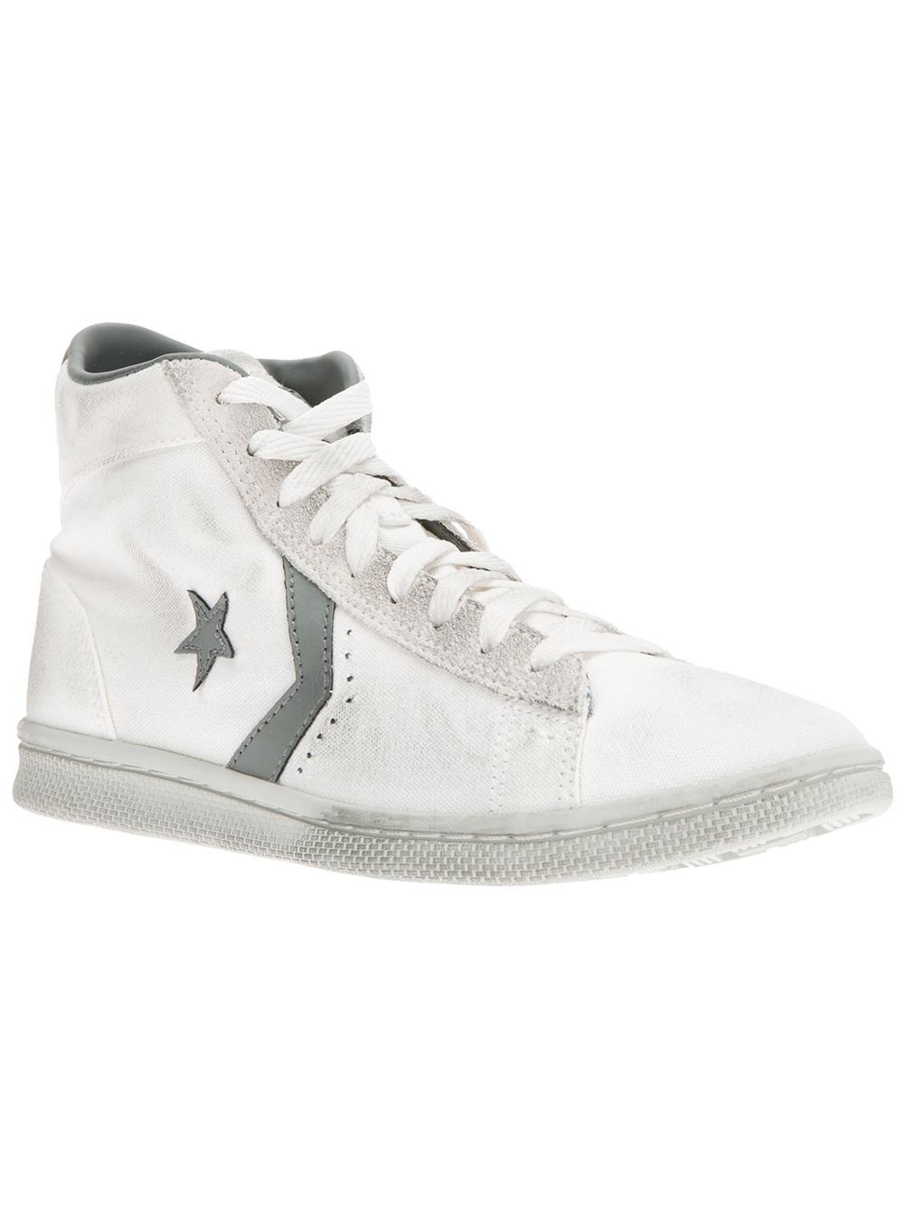 Converse Pro Leather LP Mid Sneaker (Women's) BYRI9bLoL