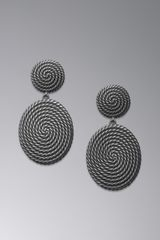 David Yurman Cable Coil Doorknocker Earrings - Lyst
