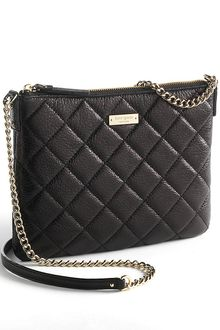 Kate Spade Ginnie Quilted Leather Clutch Bag - Lyst