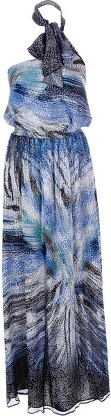 Liu Jo Mixed Print Maxi Dress - Lyst