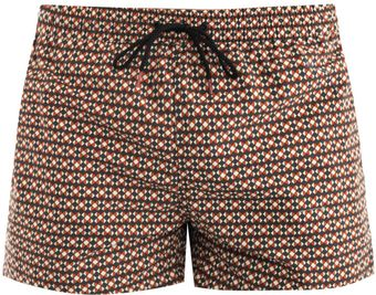 Paul Smith Geometricprint Swim Shorts - Lyst