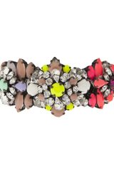 Shourouk Multicolored Cuff - Lyst