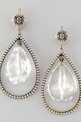 Stephen Dweck Nouveau Rock Crystal Drop Earrings - Lyst