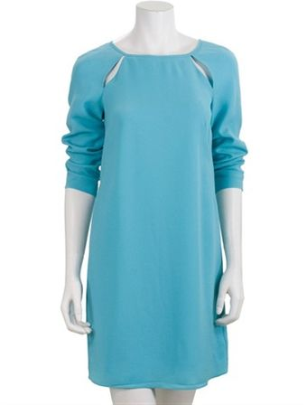 Tibi Peekaboo Shift Dress - Lyst
