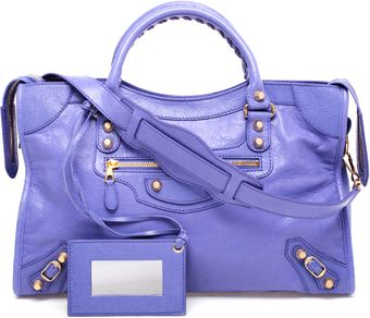 Balenciaga Giant City Leather Bag - Lyst
