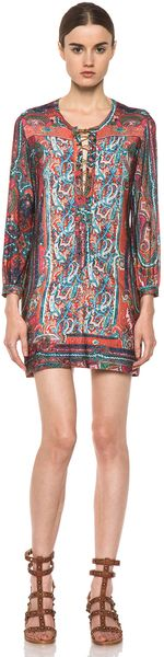 Isabel Marant Malia Makolam Dress - Lyst