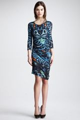 McQ by Alexander McQueen Print Jersey Dress  - Lyst