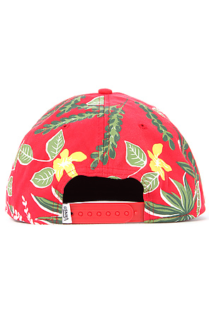 Lyst - Vans The Broloha Surf Snapback Hat in Red Hawaiian in Red for Men 6e4facbad24