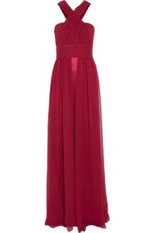 Vionnet Silk Chiffon and Satin Gown - Lyst