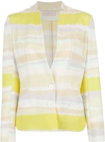 Cacharel Striped Blazer - Lyst