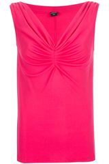 Jean Paul Gaultier Ruched Vest Top - Lyst