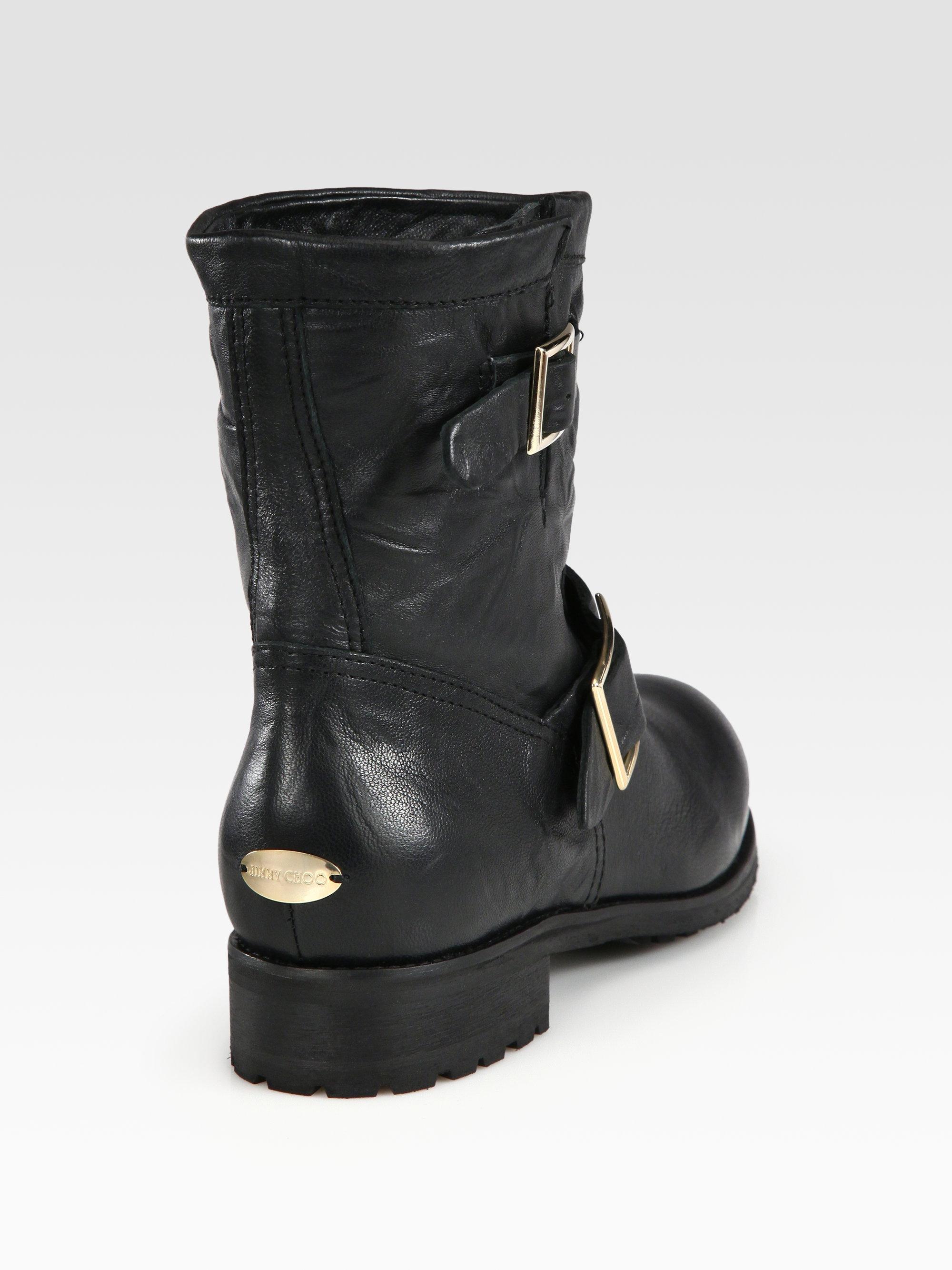 072b80c318b ... jimmy choo biker boots lined with shearling coats ...