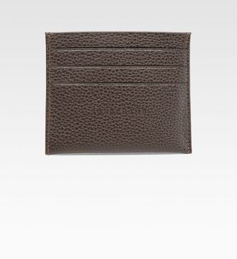 Longchamp Slim Credit Card Holder - Lyst
