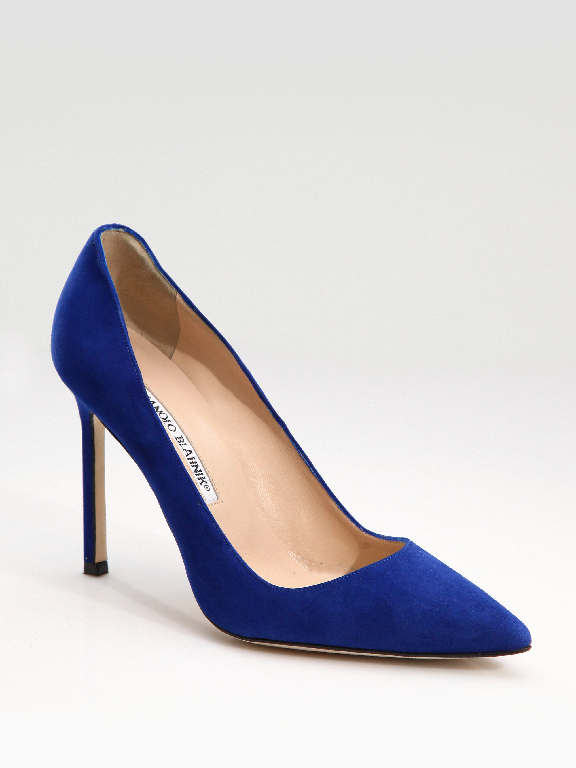 Check out the season's hottest blue suede heels. Stand out without actually standing out. Check out our what's new section for the latest styles and brands in women's shoes, like Rachel Comey Booties, Sol Sana, Rachel Zoe Booties, Maison Martin Margiela Booties, Cheap Monday Shoes, and Maison Martin Margiela Booties.