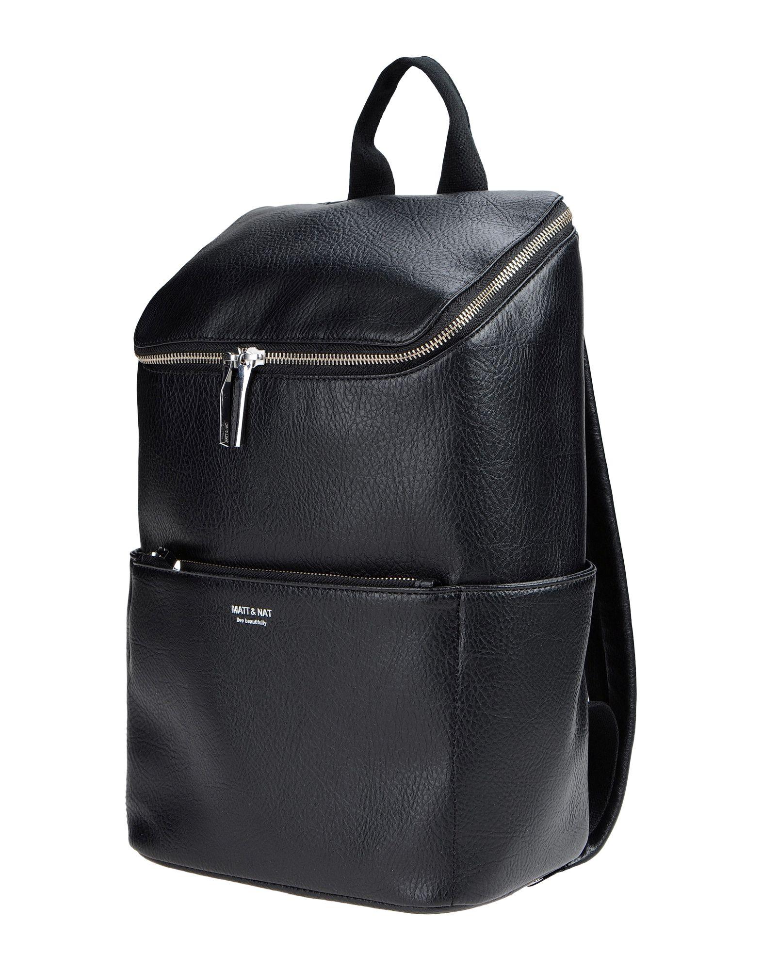 Matt Amp Nat Backpacks In Black Lyst