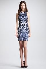 McQ by Alexander McQueen Symmetricprint Racerback Dress - Lyst
