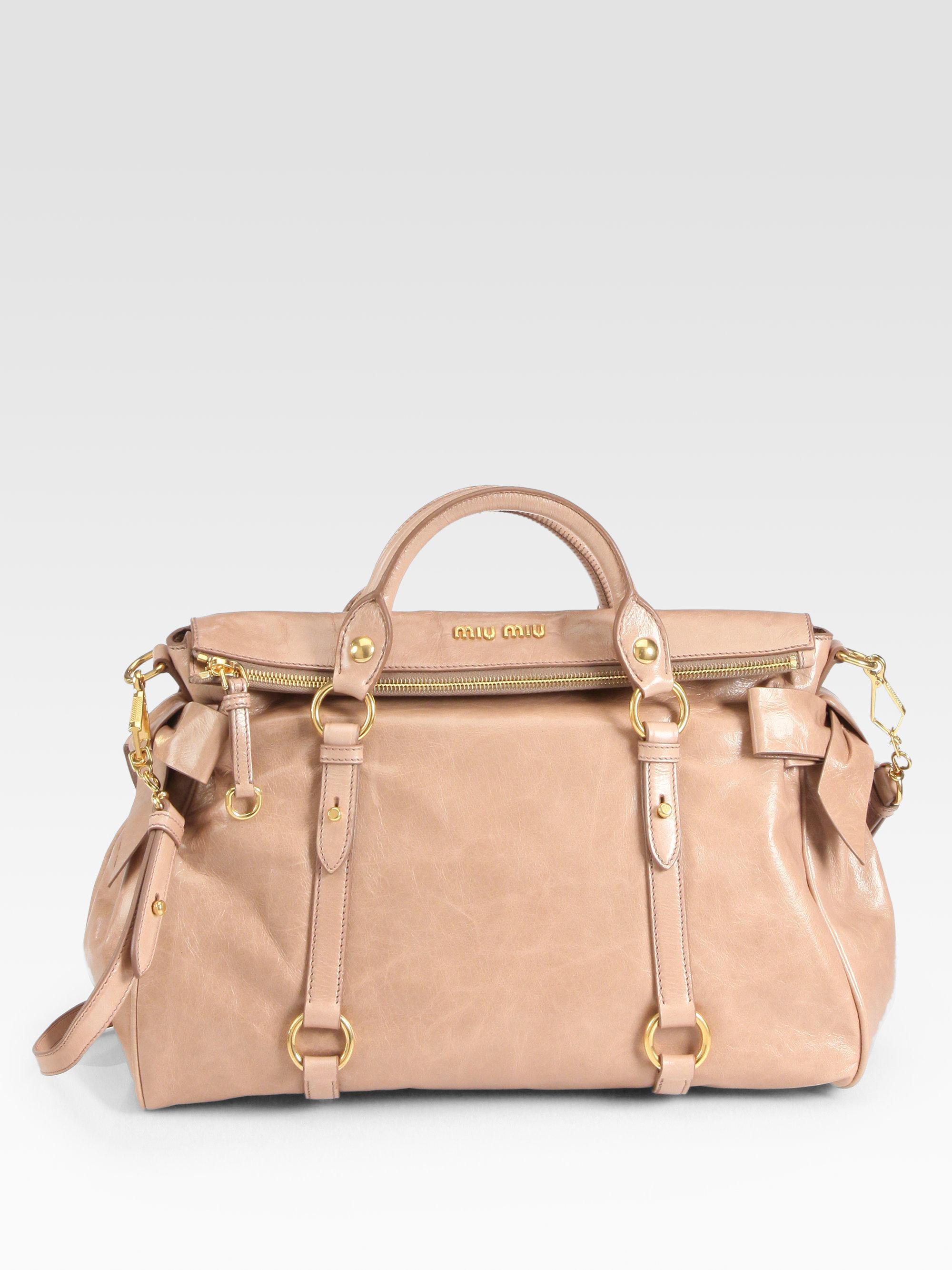 Miu Miu Large Bow Bag Measurement