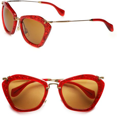 022026d1798 Miu Miu Red Glasses