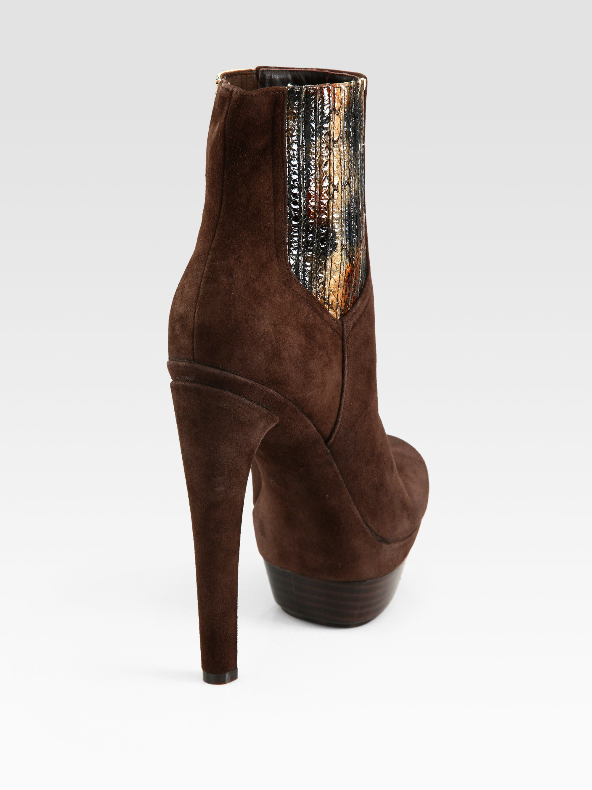 9bd362ea6feb0 Dark Brown Platform Ankle Boots - Best Picture Of Boot Imageco.Org