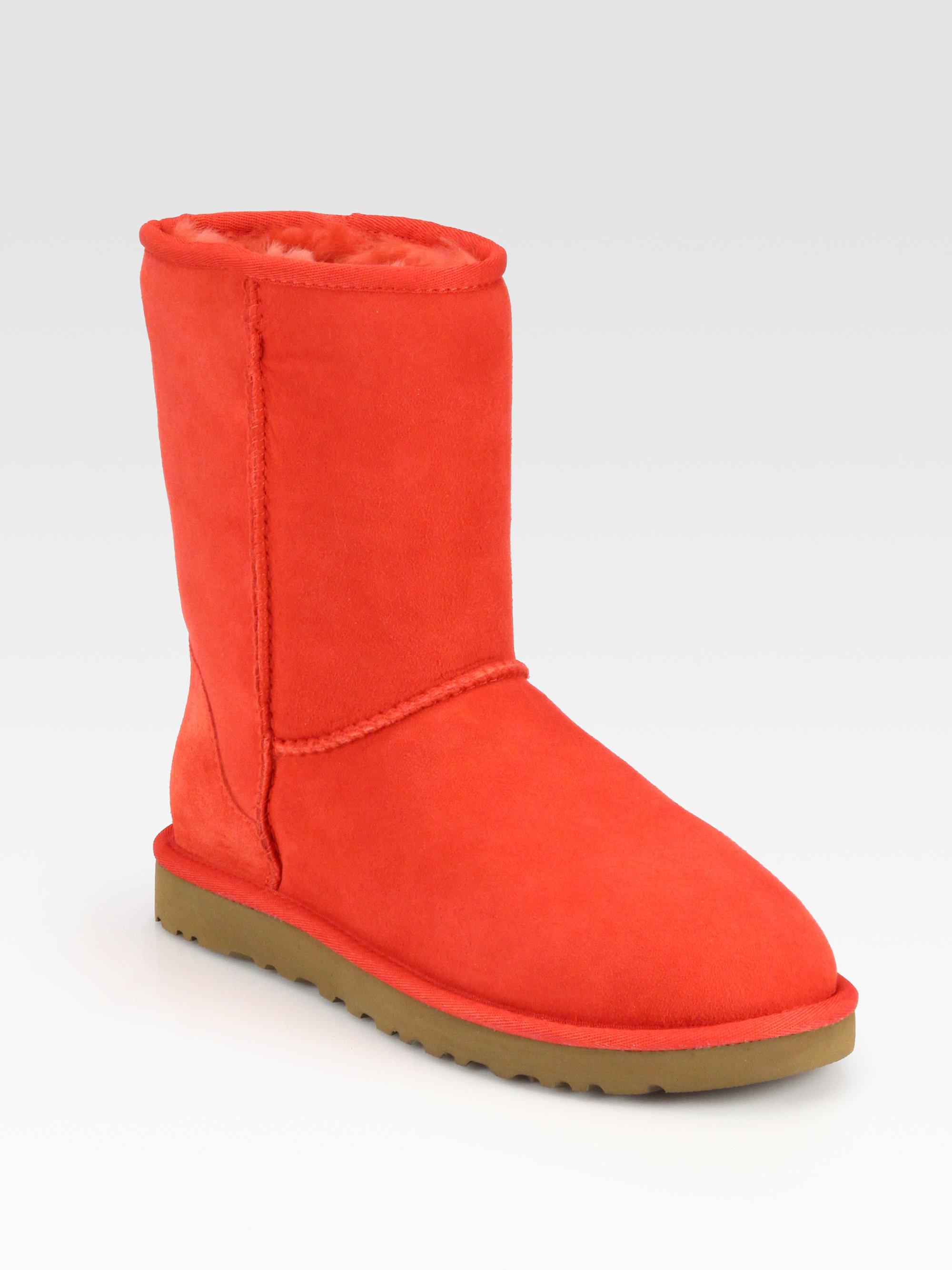 Ugg Classic Short Sheepskin Boots Lyst