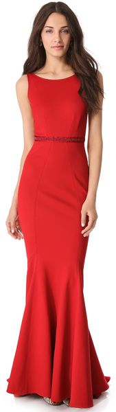 Zac Posen Sleeveless Gown - Lyst