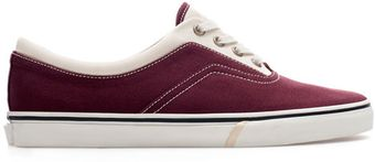 Zara Combination Plimsoll - Lyst