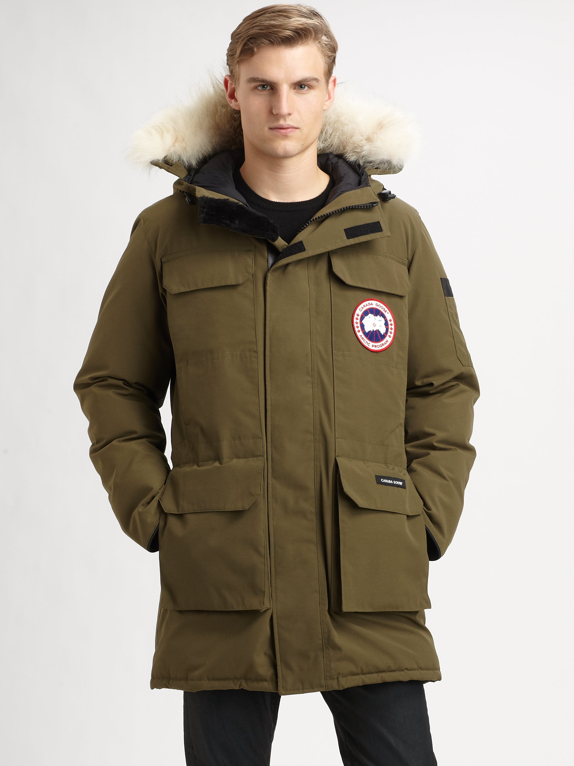 Canada Goose down online price - Canada goose Citadel Parka in Green for Men | Lyst