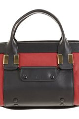Chloé Colorblock Little Alice Satchel - Lyst