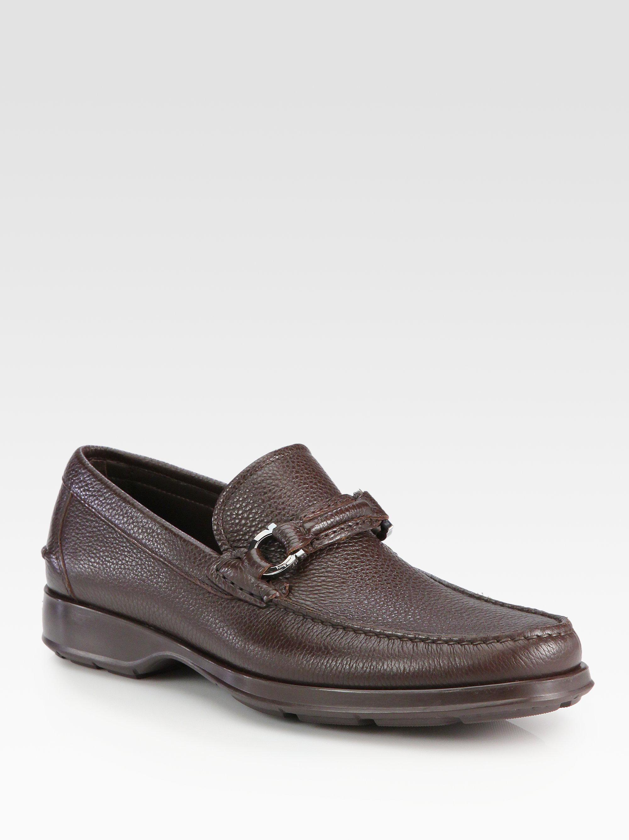 eb496047e40 Lyst - Ferragamo Aleandro Slip-On Moccasin in Brown for Men