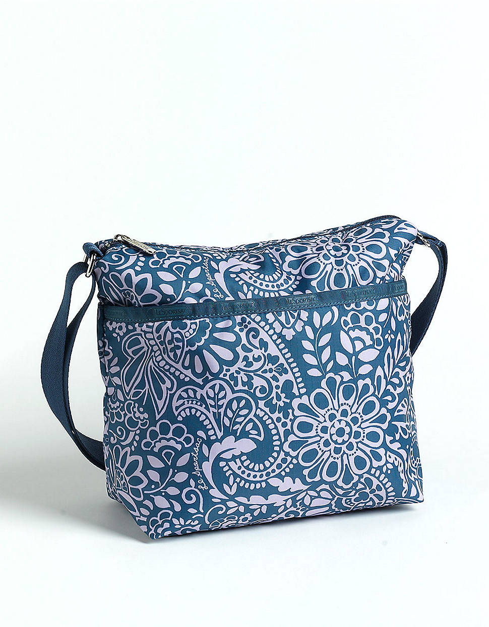 60f9dc230b94 Lesportsac Small Cleo Crossbody Bag in Blue - Lyst