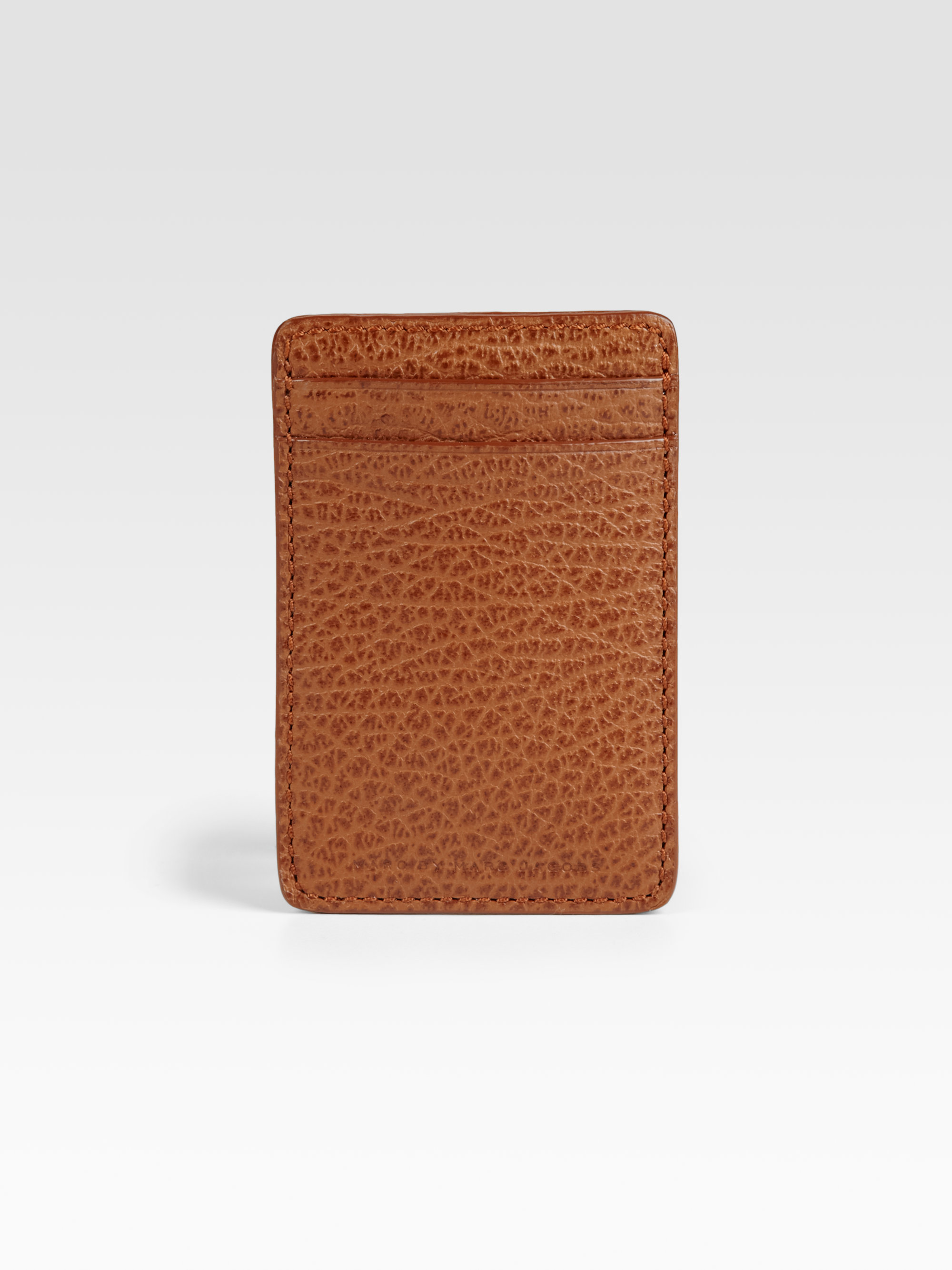 Lyst - Marc By Marc Jacobs Leather Money Clip in Brown for Men