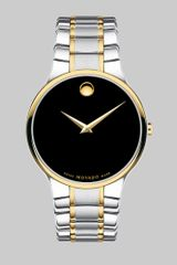 Movado Serio Two Tone Stainless Steel Watch - Lyst