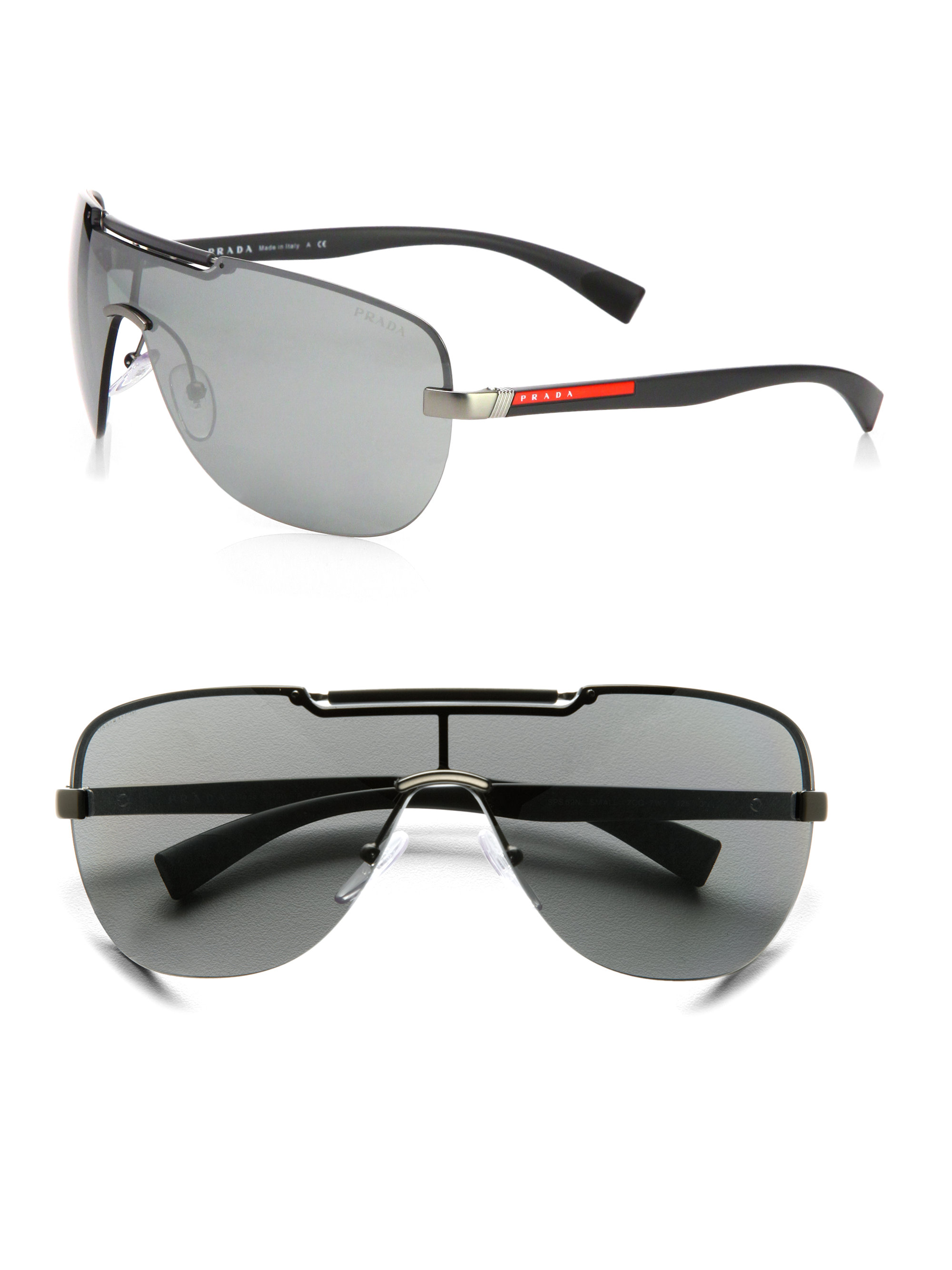 8fc89840 spain black metal prada sunglasses for men 1722a e7814
