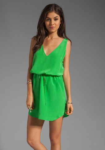 Rory Beca Fiery Criss Cross Dress in Kelly - Lyst