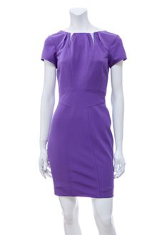 Z Spoke by Zac Posen Boatneck Bondage Dress - Lyst