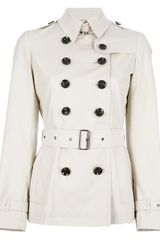 Burberry Brit Cromfield Trench Coat - Lyst