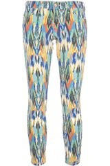 Current/Elliott The Stiletto Printed Jeans - Lyst