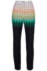 Missoni Knitted Trouser - Lyst