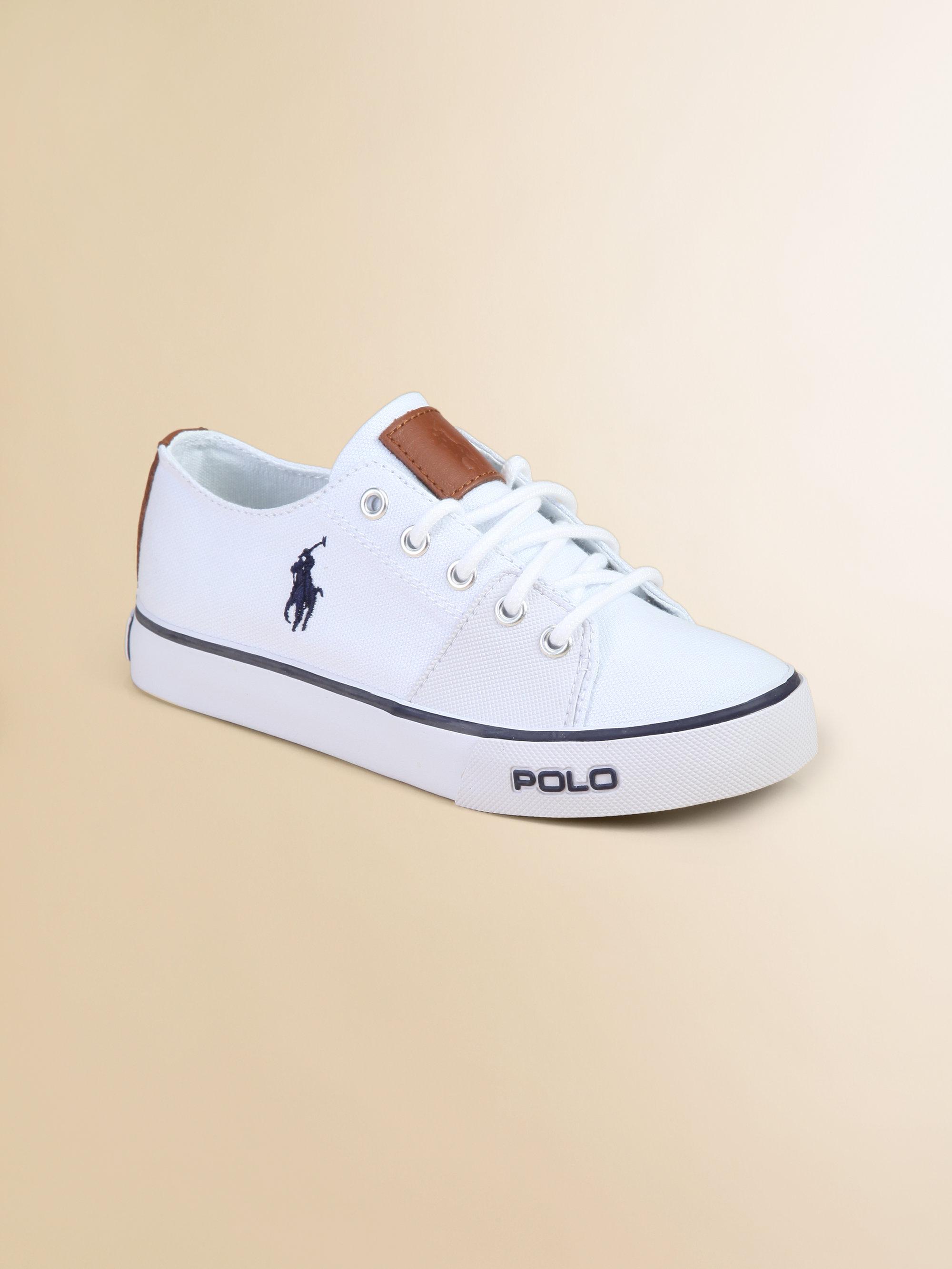 Ralph Lauren Kids Canvas Shoes