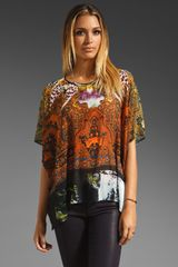 Clover Canyon Ombre Paisley Top in Multi - Lyst