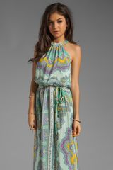 Nanette Lepore Beach Lover Dress in Mint Multi - Lyst