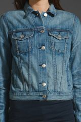 Rag & Bone The Jean Jacket in Perfect in Blue - Lyst