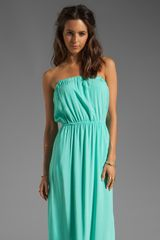 Splendid Maxi Dress in Mint - Lyst