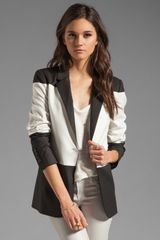 Elizabeth And James Colorblock Blazer - Lyst