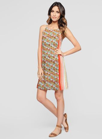 Ella Moss Tiki Cami Dress - Lyst