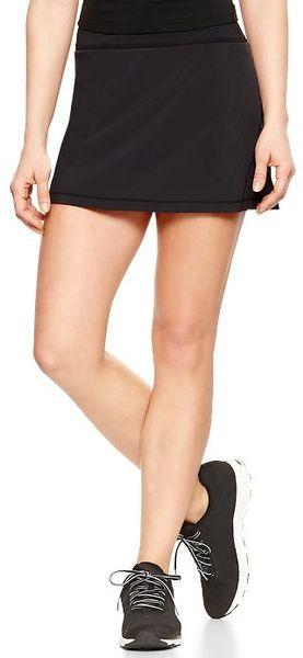 Gap true black gapfit pleated skirt product