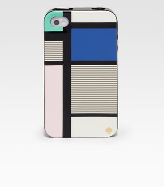 Kate Spade Mondrianinspired Hardcase For Iphone 4 4s - Lyst