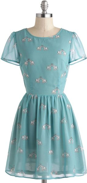 ModCloth To Have and To Herd Dress - Lyst