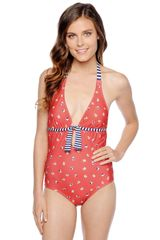 Splendid Parisian Tulip One Piece - Lyst