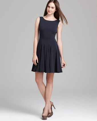 Theory Pleated Dress Kaien W Madera - Lyst